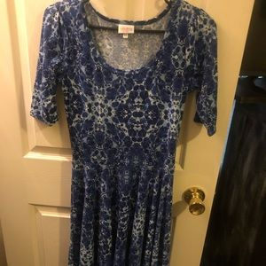 LuLaRoe Blue Dress